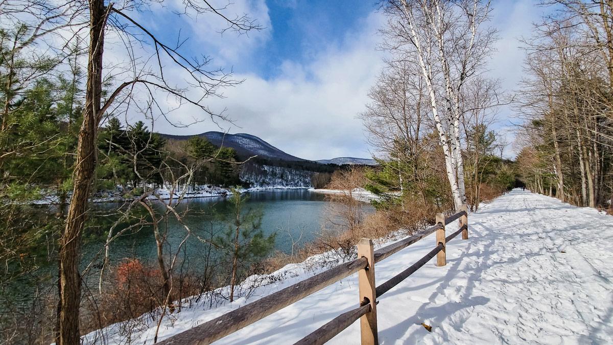 Winter in Boiceville