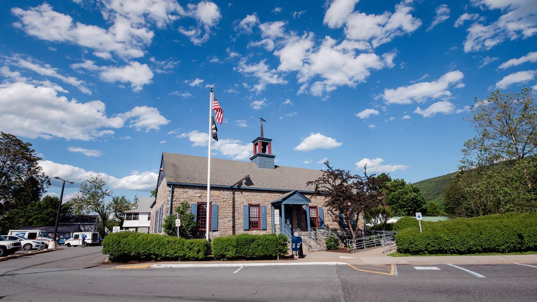 Post office in Ellenville