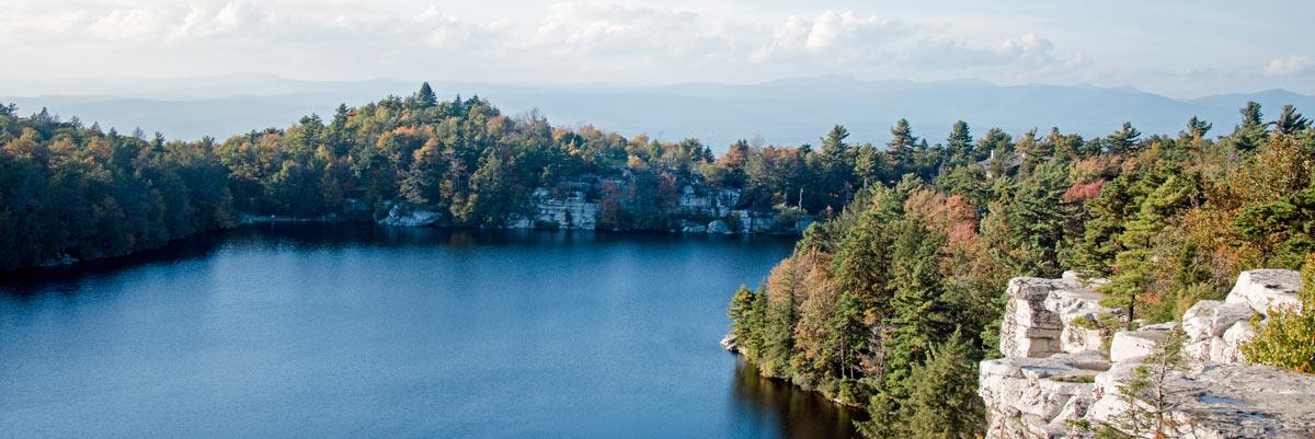 view of lake Minnewaska