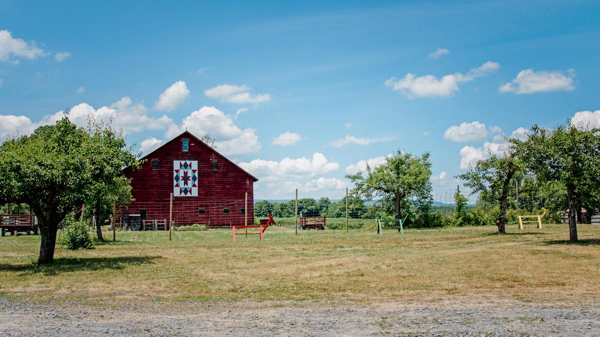 red barn Plattekill
