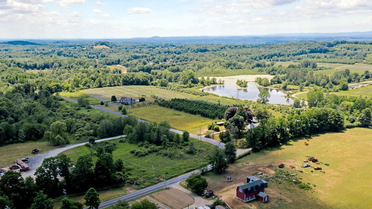 ariel view Plattekill
