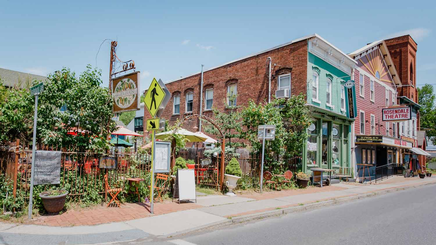 Store fronts in rosendale