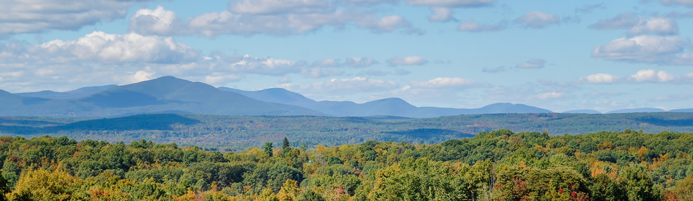 View of mountains in ulster county